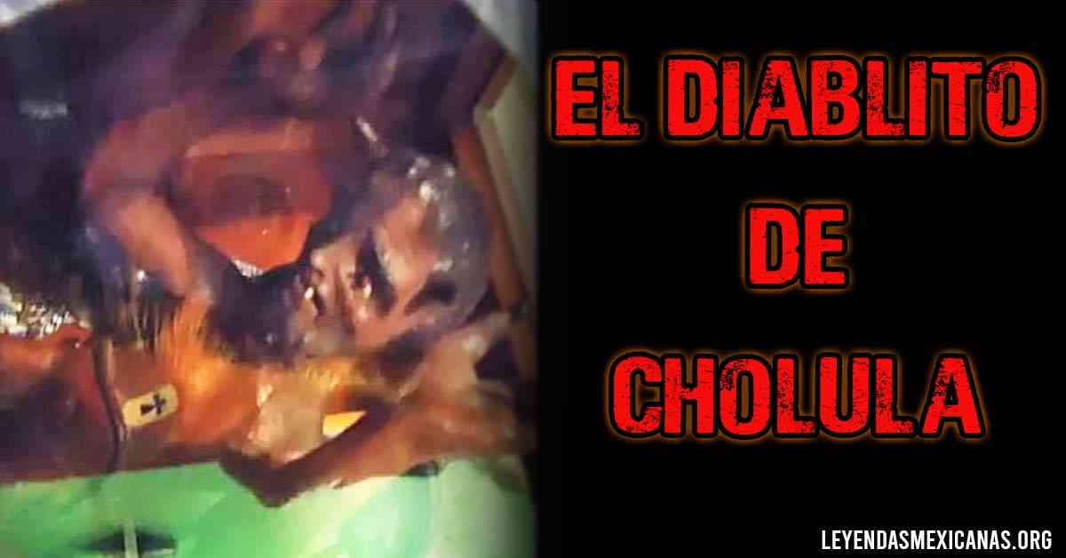 El diablito de Cholula